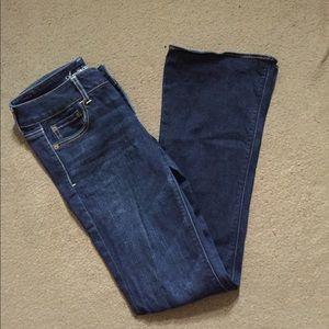 American Eagle super stretch artist 6 long jeans